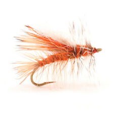 (2) Crystal Stimulator Orange #14Trout Dry Fly by Umpqua New Free Shipping