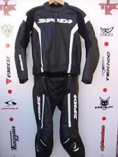 """Spidi RR Two Piece Race/touring suit uk 44 jacket uk 32/34"""" jean great condition"""