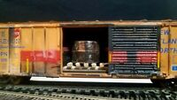 HO BOX CAR ATHERAN RH ATLAS WALTHERS INTERMOUNTAIN EXACTRAIL LOAD LPN WEATHERED