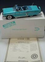 DANBURY MINT 1958 CHEVROLET IMPALA CONVERTIBLE CAR 1:24 SCALE DIE CAST MIB #3
