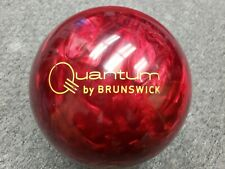 15 lbs USED** Brunswick FIRE QUANTUM bowling ball - Good Condition