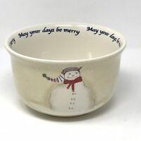 ONEIDA SNOWMATES by Debbie Taylor Kerman Snowman Soup Cereal Bowl