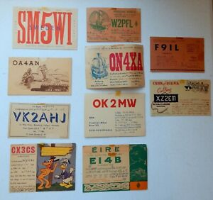 Vintage Two-Way Radio Cards (Late 1940's)