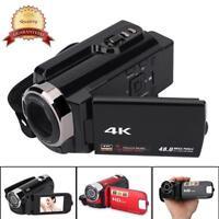 4K HD Wifi Night Vision Digital Camera 1080P WiFi DVR Video Camcorder DV US Plug