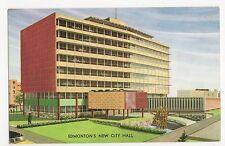 Canada, Edmonton's New City Hall Old Postcard, A823