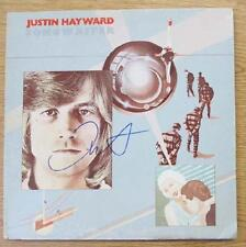JUSTIN HAYWARD SONGWRITER SIGNED 1977 AUTOGRAPH ORIGINAL MOODY BLUES