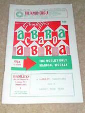 VINTAGE ABRACADABRA (MAGIC) - Cabaret Card