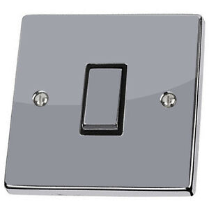 Plain Silver Light Switch & Power Socket Stickers skin decal vinyl cover grey