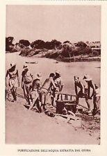 7400) WW ETIOPIA, PURIFICAZIONE DELL'ACQUA DEL GIUBA.