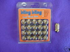 GOLD Tuner Wheel Nuts 20pcs  Suit most cars