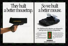 UNIDEN STALKER RADAR DETECTOR__Original 1992 Trade print AD promo__INDUSTRY ONLY