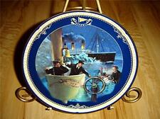 TITANIC QUEEN OF THE OCEAN ALL HANDS ON DECK TITANIC SHIP MOVIE BRADFORD PLATE