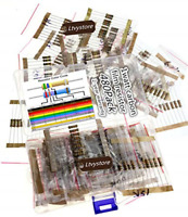 480PCS 1W Carbon Film Resistors Assortment Kit Assorted Set 48 Values 2M Ohm...