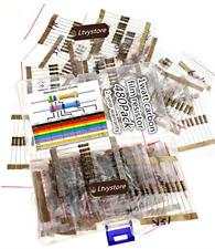 480PCS 1W Carbon Film Resistors Assortment Kit Assorted Set 48 Values 2M Ohm...
