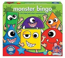 Orchard Toys 084 Monster Bingo Kids Childrens Toddler Fun Learning Game 3 Yrs