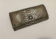 Henri Bendel Clutch Handbag Snake Skin