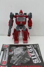 Transformers Siege Ironhide complete WFC Generations War For Cybertron G1