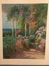 """""""Summer Solstice"""" ~ Ming Feng ~ Signed and numbered serigraph 290/350"""