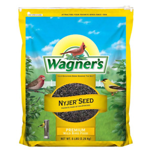 Wagner's Nyjer Seed Wild Bird Food 5 Lb Finch Natural Songbird Wildlife Pets New
