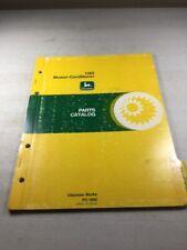John Deere 1380 Mower Conditioner Parts Catalog