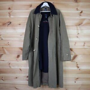 Gant Duster Trench Coat with Wool Lining Khaki Beige Medium