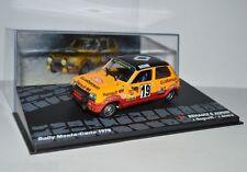 RALLY IXO MOULÉ SOUS PRESSION 1/43 Renault 5 Alpin Jean Ragnotti Monte carlo
