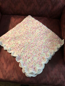 hand crocheted baby blankets new