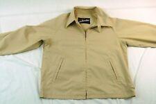 Vintage Arnold Palmer Windbreaker Van Heusen Size 42 Tan Golf Jacket #H1130