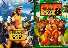 PELICULA DVD PACK HERMANO OSO CLASICO Nº45 + HERMANO OSO 2 WALT DISNEY