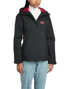 Helly Hansen HH Salzburg Ski Black Women's Winter Jacket - LARGE L / G