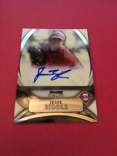 Jesse Biddle  Phillies 2010 Bowman Sterling Prospects Auto#BSP-JB