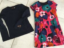 Ensemble robe + t-shirt CATIMINI 7 ans ,dress,kleid