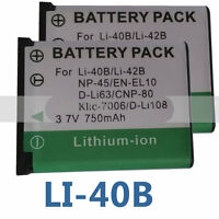 2pk Battery for Sealife DC-1400 DC1400 DC-1200 DC1200 DC-600 DC600 SL-7014