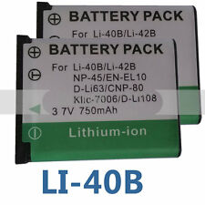 2pk Battery for Sealife DC-1400 DC1400 DC-1200 DC1200 DC-600 DC600 SL-7014