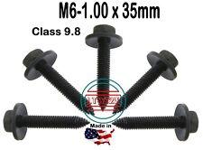 (Qty 15) M6-1.00 x 35mm Metric Hex  Screw W/ Spin Washer LT-M0635