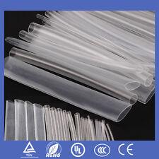 150PCS Transparent Polyolefin 2:1 #V Heat Shrink Tubing Tubes Sleeving Wrap Kits