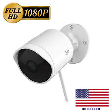 YI Outdoor Security Camera, 1080p Cloud IP Waterproof Night Vision Surveillance