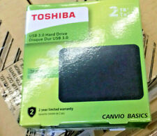 Toshiba Canvio 2TB 2.5-Inch USB 3.0 Canvio Basics External HDD - Black