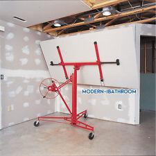 Drywall 11ft Lift Panel Hoist Plaster Board Sheet Dry Wall Lifter Construct Tool