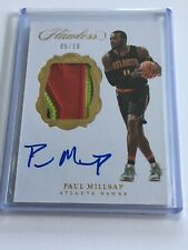 2016-17 Flawless Paul Millsap Patch Auto Gold /10