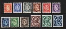 St. Vincent - 1955 QE2 set, mint, cat. $ 44.00