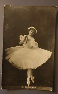 Postcard before 1920, the Russian Empire. Ekaterina Geltser Legendary Ballerina