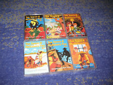 6 MC Tom Sawyer und Huckleberry Finn Kassetten Sammlung Kiosk Teldec 1 2 3 4 5 6