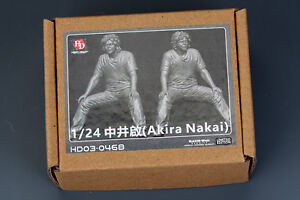 Hobby Design 1/24 Akira Nakai - Sitting (1 Resin Figure) [Limited Edition]