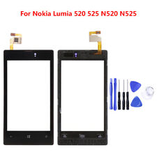 For Nokia Lumia 520 525 N520 N525 Glass Touch Screen Digitizer Replacement BLACK