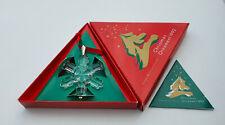 Swarovski Weihnachtsstern 1992 Christmas Ornament Stelle di Natale