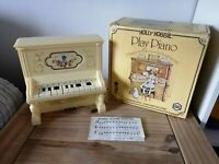 Vintage Toy Piano Holly Hobbie 1978 Toy Complete Boxed VGC Chad Valley Working
