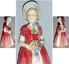 "Royal Doulton Diana Porcelain Figurine Hn1986 5.5"" Made In England"