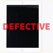 DEFECTIVE Apple iPad 6 MR7K2LL/A 9.7 inch (WiFi Only) - 128GB - Silver A1893