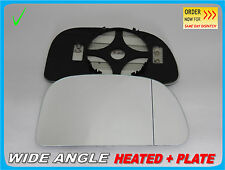 Wing Mirror Glass Aspheric For Mitsubishi Space Star 1998-05 HEATED Right /JB004